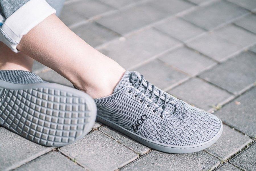 veganer-Sneaker-grau