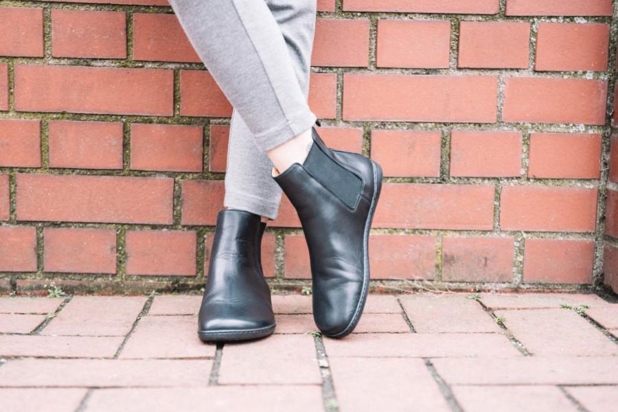 Chelsea-Boots-Barfussschuhe-schwarz-Damen-3