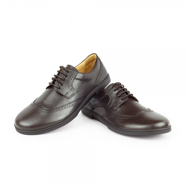 BRIQ Brogue Dark Brown