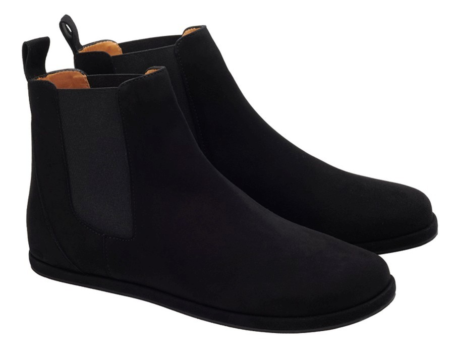 Chelsea-Boots-schwarz-Damen