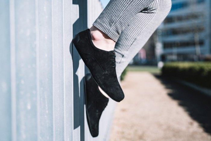 Veloursleder-Schuhe
